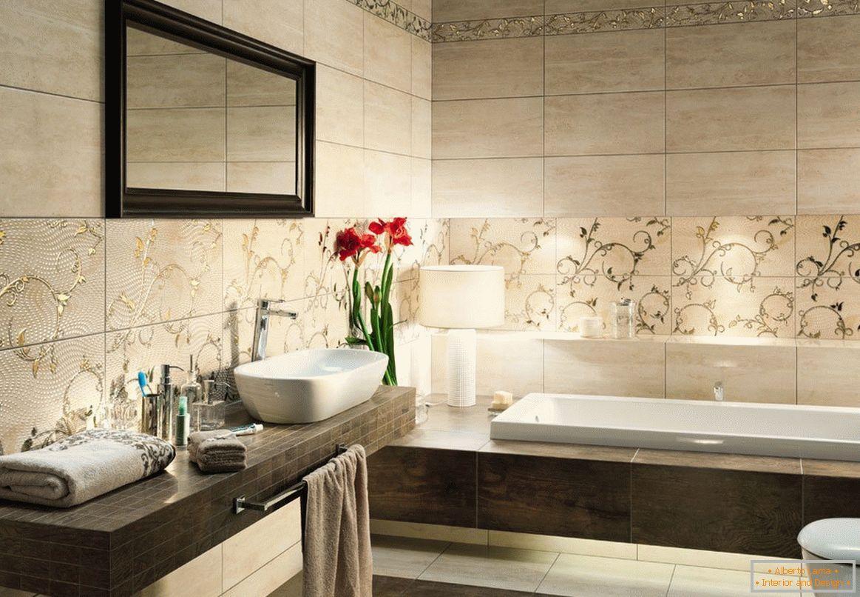Image result for floral decorativo telhas casa de banho